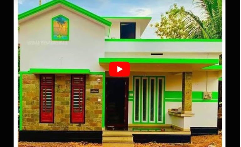 600 Sq Ft 2BHK Single Floor Modern House and Free Plan, 10 Lacks
