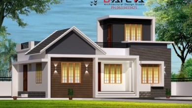 Photo of 740 Sq Ft 2BHK Contemporary Style Single-Storey House and Free Plan, 12 Lacks