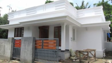 Photo of 760 Sq Ft 2BHK Modern Single Floor House at 3 Cent Plot
