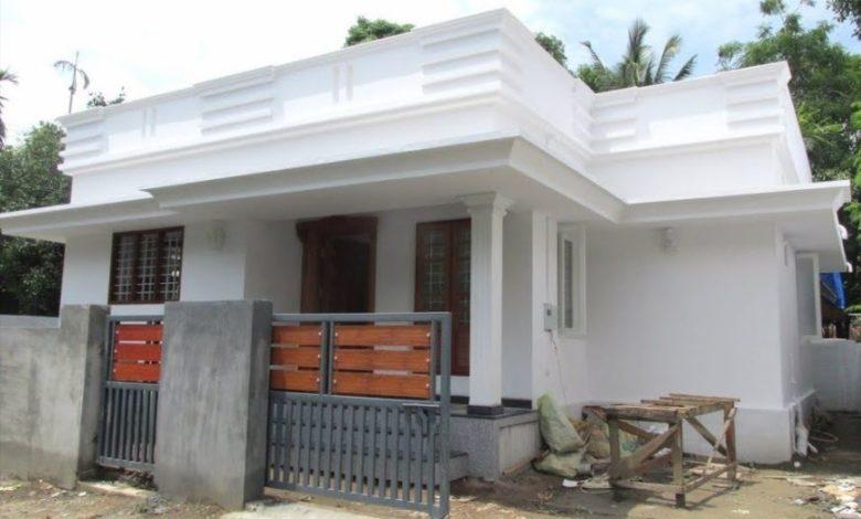 760 Sq Ft 2BHK Modern Single Floor House at 3 Cent Plot