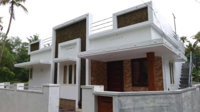 Photo of 773 Sq Ft 2BHK Modern Single Floor House at 3.4 Cent Plot