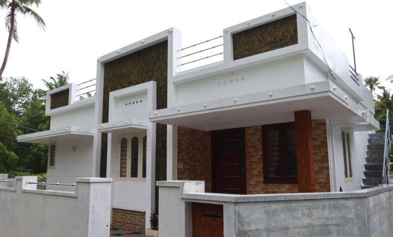773 Sq Ft 2BHK Modern Single Floor House at 3.4 Cent Plot