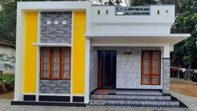 Photo of 882 Sq Ft 3BHK Modern and Beautiful Single Floor House and Free Plan