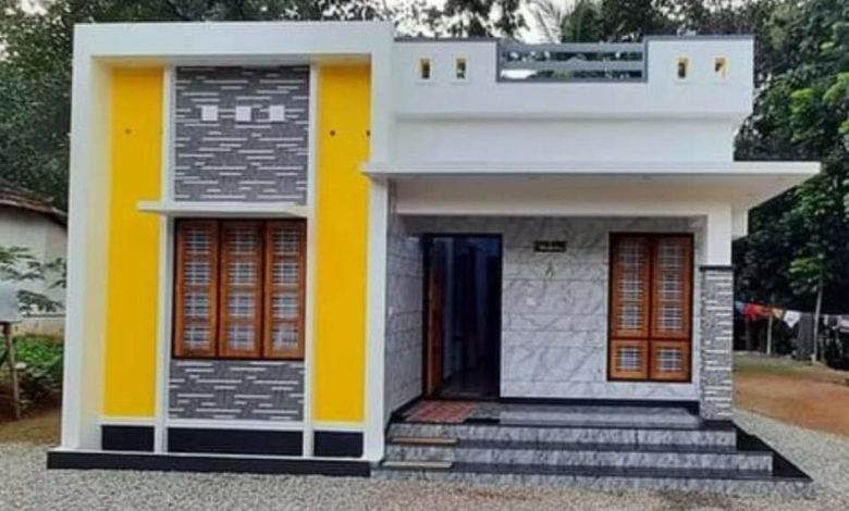 882 Sq Ft 3BHK Modern and Beautiful Single Floor House and Free Plan