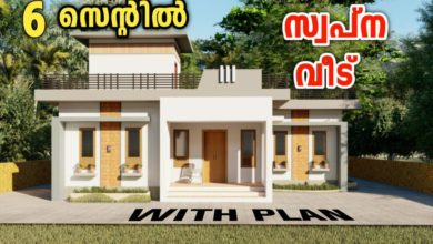 Photo of 980 Sq Ft 2BHK Contemporary Style Single-Storey House and Free Plan