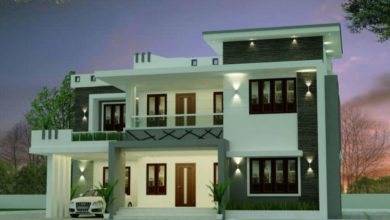 Photo of 2366 Sq Ft 4BHK Modern Two Floor House and Free Plan