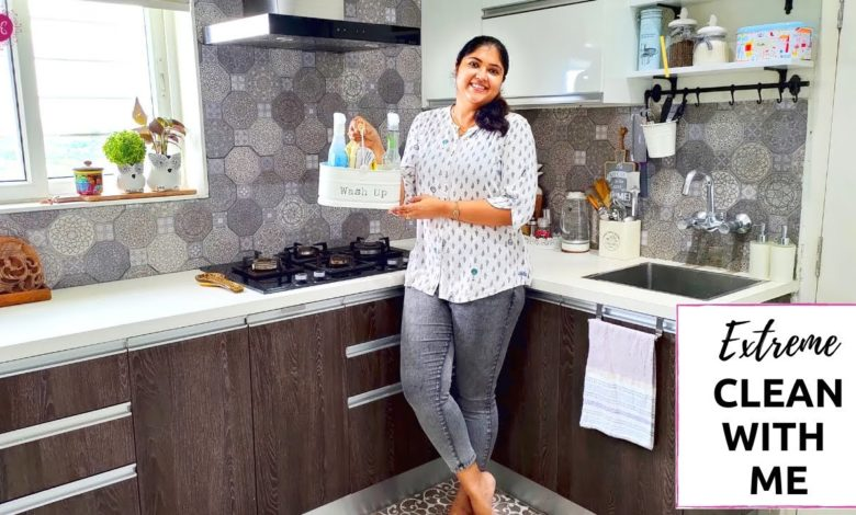 How To Kitchen Cleaning