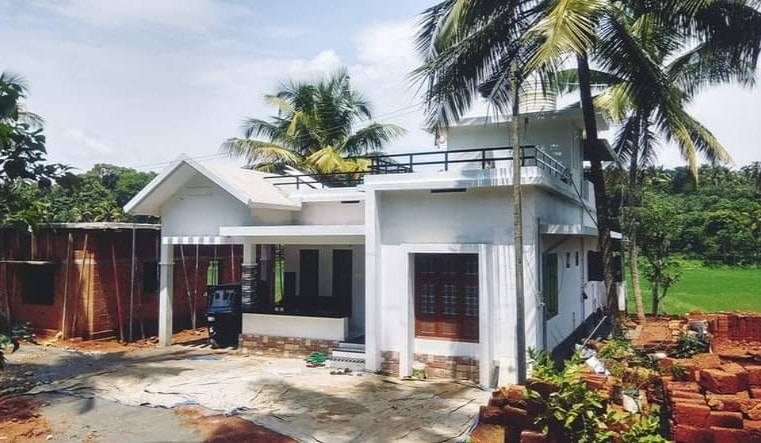 1060 Sq Ft 2BHK Single Floor Beautiful House and Free Plan, 15 Lacks