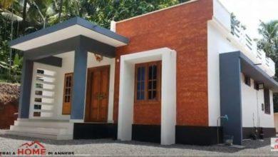 Photo of 1175 Sq Ft 3BHK Modern House at 5 Cent Plot, Free Plan, 16 Lacks