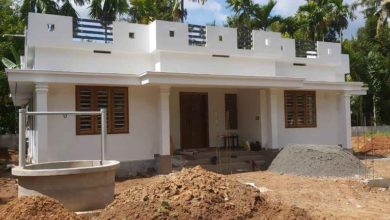 Photo of 1300 Sq Ft 3BHK Simple and Beautiful Low Budget House and Free Plan
