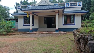 Photo of 1300 Sq Ft 3BHK Traditional Style Single Floor House and Free Plan