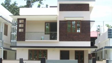 Photo of 1450 Sq Ft 4BHK Double Floor Modern House at 3 Cent Plot