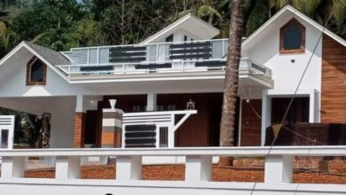Photo of 1817 Sq Ft 4BHK Contemporary Style Single-Storey House and Free Plan