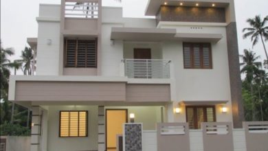 Photo of 1820 Sq Ft 4BHK Contemporary Style Two-Storey House at 4 Cent Plot
