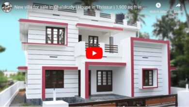 Photo of 1900 Sq Ft 4BHK Modern Two-Storey House at 7 Cent Plot