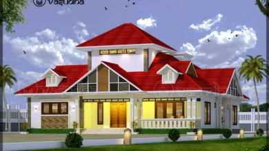 Photo of 2100 Sq Ft 4BHK Traditional Nalukettu Style Single-Storey House and Free Plan