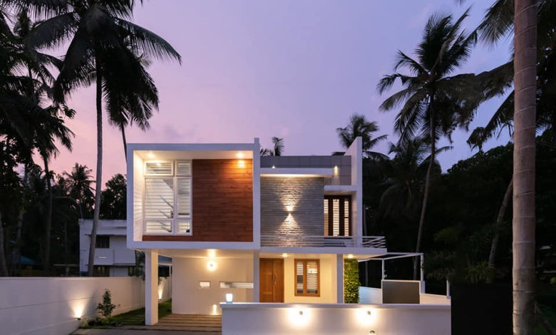 2308 Sq Ft 4BHK Box Style Two Floor House at 6 Cent Plot, Free Plan