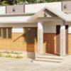 608 Sq Ft 2BHK Single Floor Beautiful House and Free Plan