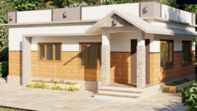 Photo of 608 Sq Ft 2BHK Single Floor Beautiful House and Free Plan