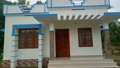 Photo of 613 Sq Ft 2BHK Simple and Beautiful Single Floor House and Free Plan