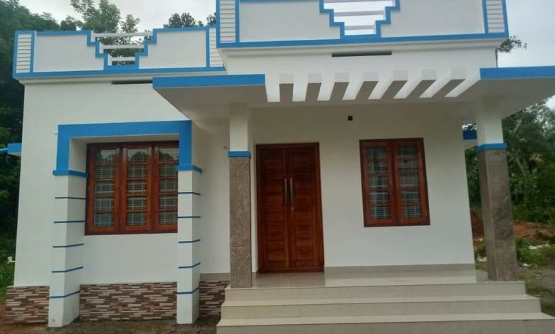 613 Sq Ft 2BHK Simple and Beautiful Single Floor House and Free Plan