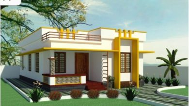 Photo of 620 Sq Ft 2BHK Modern Single-Storey House and Free Plan, 10 Lacks