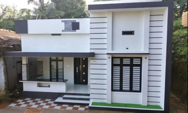 650 Sq Ft 2BHK Modern Single Floor House and Free Plan