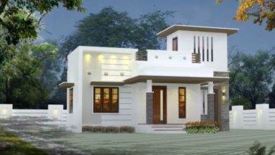 Photo of 650 Sq Ft 2BHK Modern Single Floor House and Free Plan