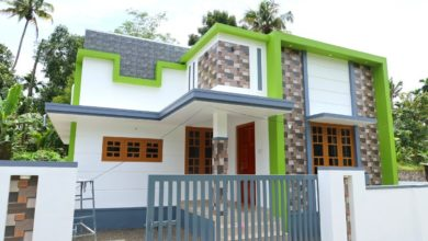Photo of 800 Sq Ft 2BHK Modern Single Floor House at 3 Cent Plot