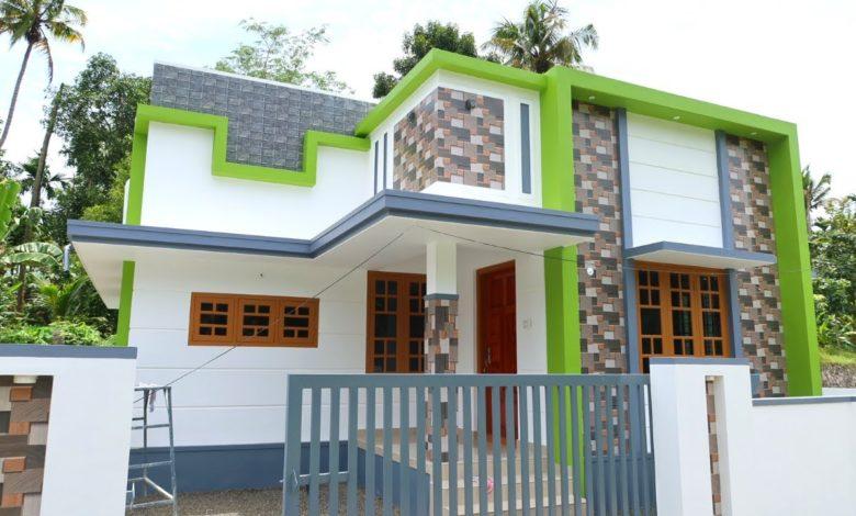 800 Sq Ft 2BHK Modern Single Floor House at 3 Cent Plot