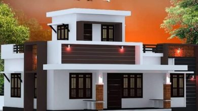 Photo of 840 Sq Ft 2BHK Modern Single Floor House and Free Plan, 13 Lacks