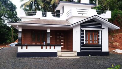Photo of 850 Sq Ft 2BHK Beautiful Single Floor House and Free Plan