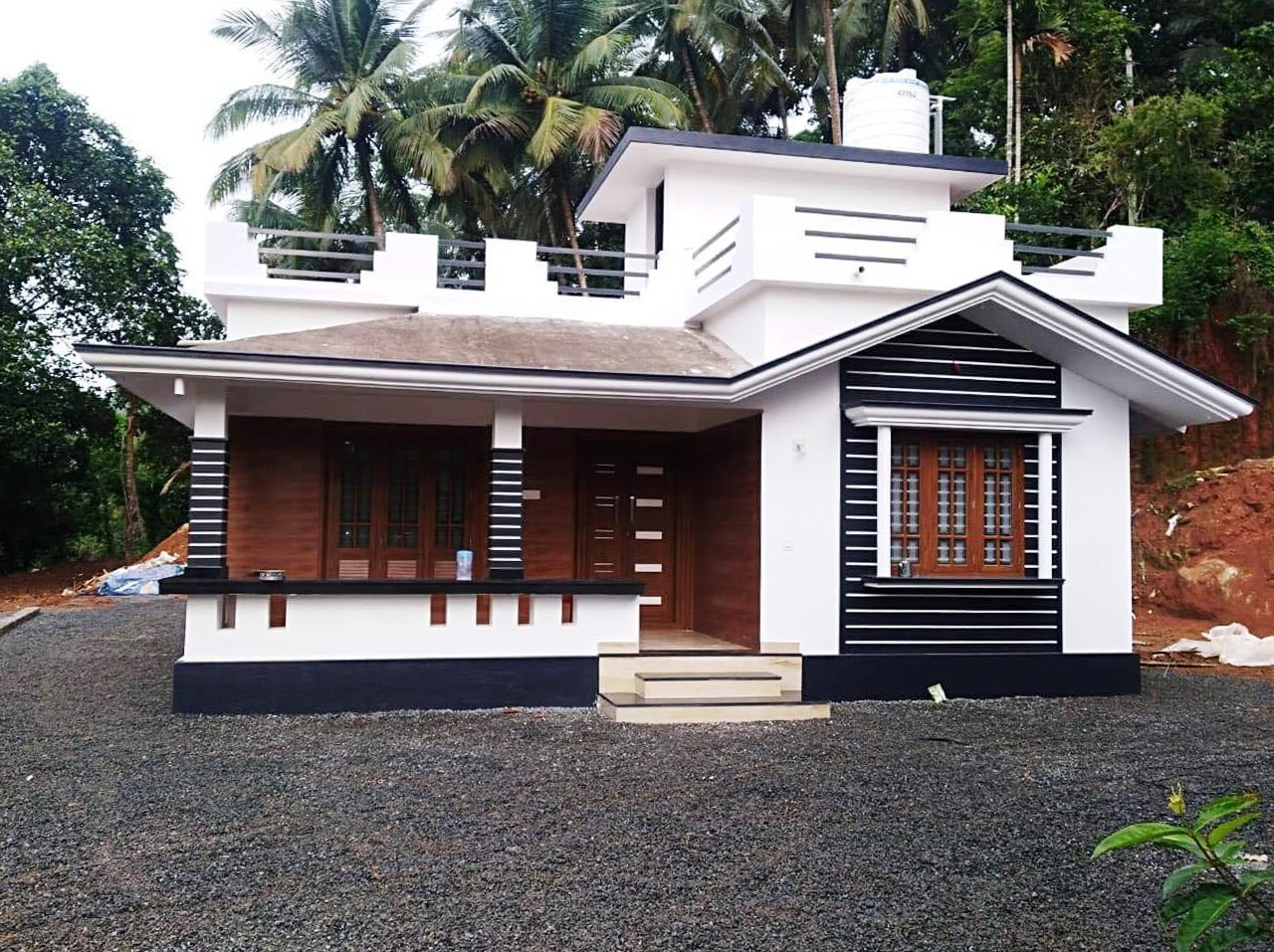 850 Sq Ft 2BHK Beautiful Single Floor House and Free Plan