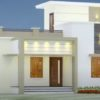 1005 Sq Ft 3BHK Modern Single-Storey House and Free Plan