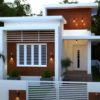 1046 Sq Ft 2BHK Contemporary Style Single-Storey House and Free Plan