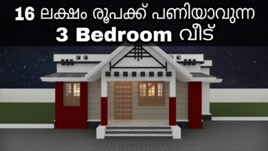 Photo of 1061 Sq Ft 3BHK Traditional Style Beautiful House and Free Plan, 16 Lacks