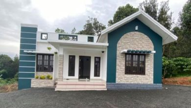Photo of 1076 Sq Ft 3BHK Modern and Beautiful House and Free Plan, 20 Lacks