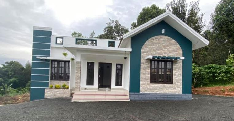 1076 Sq Ft 3BHK Modern and Beautiful House and Free Plan, 20 Lacks