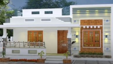 Photo of 1176 Sq Ft 3BHK Modern Single-Storey House and Free Plan