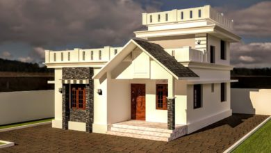 Photo of 1200 Sq Ft 3BHK Beautiful Two-Storey House and Free Plan
