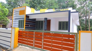 Photo of 1270 Sq Ft 3BHK Single Floor Modern House at 5.5 Cent Plot