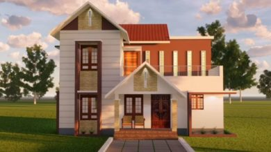 Photo of 1296 Sq Ft 4BHK Two-Storey Modern House and Free Plan, 20 Lacks