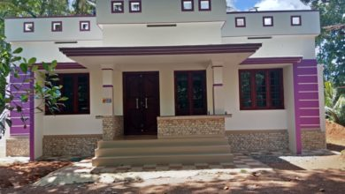 Photo of 1302 Sq Ft 3BHK Single Floor Modern House and Free Plan