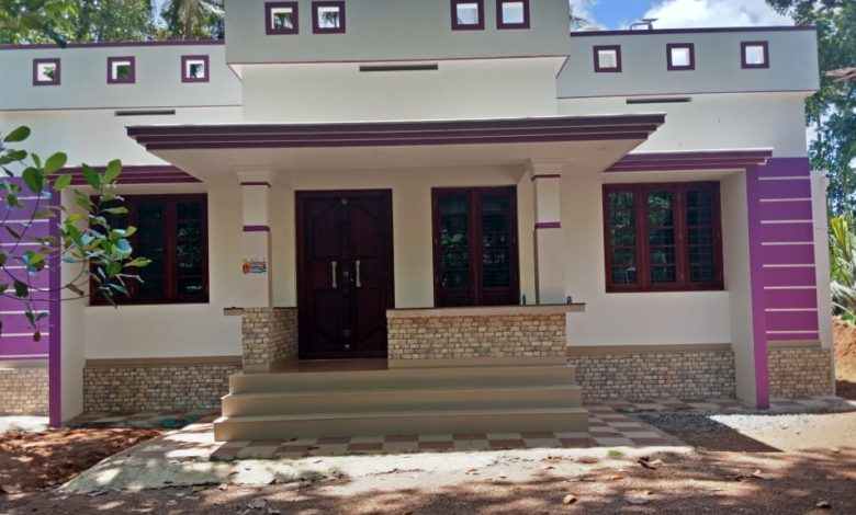 1302 Sq Ft 3BHK Single Floor Modern House and Free Plan