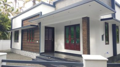 Photo of 1362 Sq Ft 3BHK Beautiful Fusion Style Single-Storey House and Free Plan