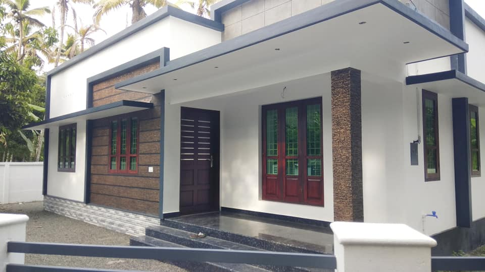 1362 Sq Ft 3BHK Beautiful Fusion Style Single-Storey House and Free Plan