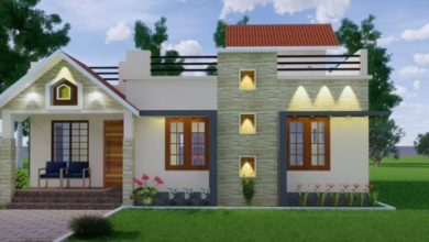 Photo of 1400 Sq Ft 3BHK Modern Single Floor House and Free Plan, 21 Lacks
