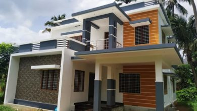 Photo of 1650 Sq Ft 3BHK Flat Roof Two-Floor House and Free Plan