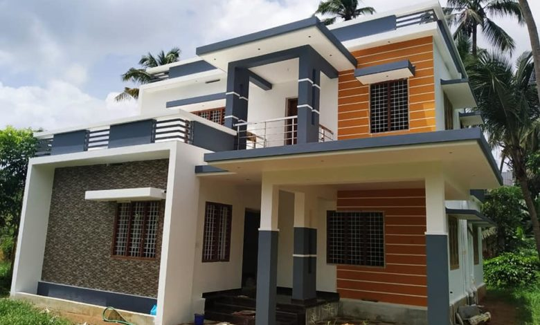 1650 Sq Ft 3BHK Flat Roof Two-Floor House and Free Plan