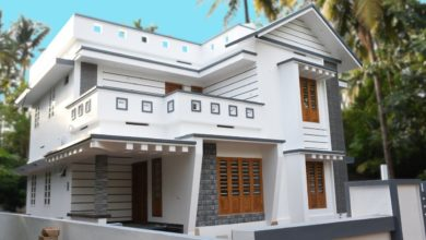 Photo of 1800 Sq Ft 4BHK Modern Two Floor House at 10 Cent Plot